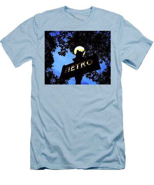 Night Ride Men's T-Shirt (Athletic Fit)