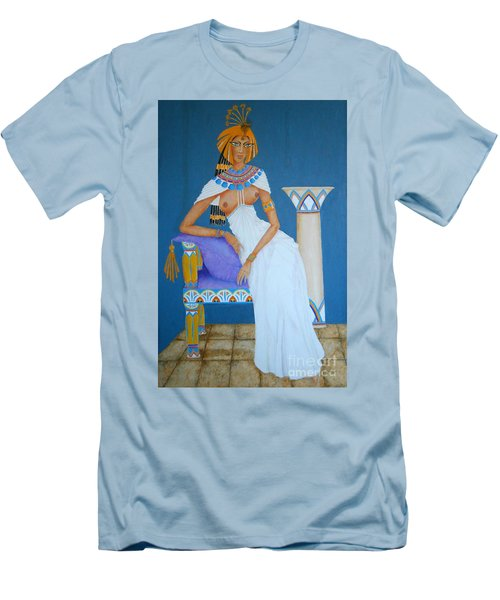Nile Nymph -- Cleopatra, #1 In Famous Flirts Series Men's T-Shirt (Athletic Fit)