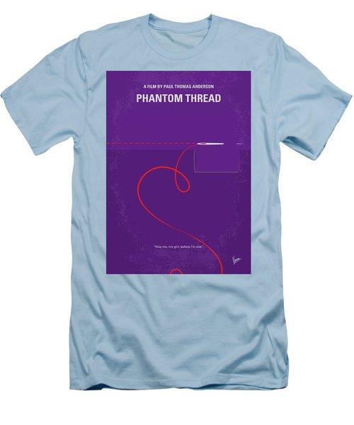 No904 My Phantom Thread Minimal Movie Poster Men's T-Shirt (Athletic Fit)