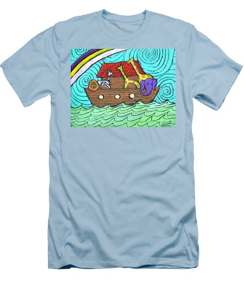 Noahs Ark Two Men's T-Shirt (Athletic Fit)