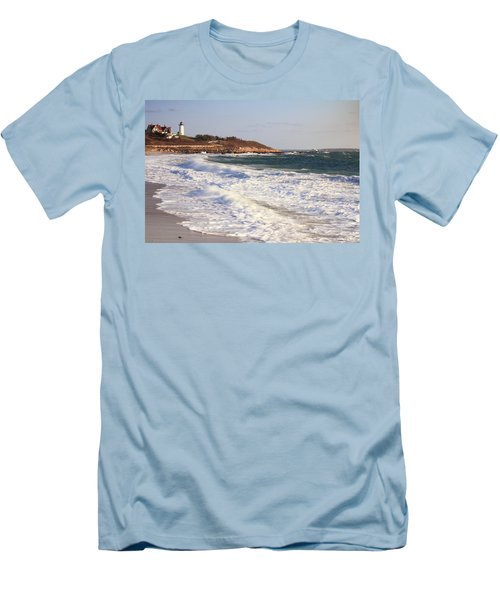 Nobska Point Seascape Men's T-Shirt (Athletic Fit)