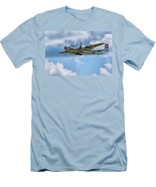 North American B-25 Mitchell Men's T-Shirt (Athletic Fit)
