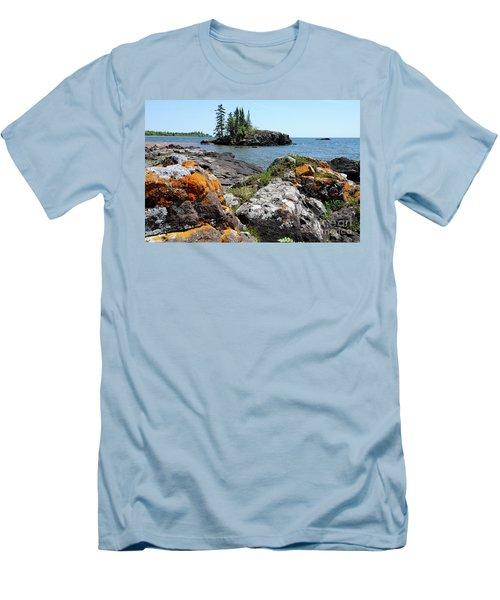 North Shore Beauty Men's T-Shirt (Slim Fit) by Sandra Updyke