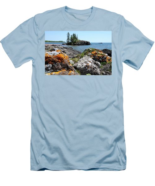 North Shore Beauty Men's T-Shirt (Athletic Fit)