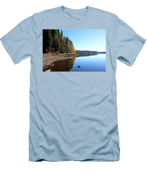 Norwegian Atumumn  Men's T-Shirt (Athletic Fit)