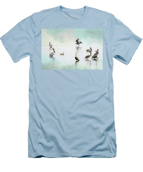Nothing But Blue Skies Men's T-Shirt (Athletic Fit)