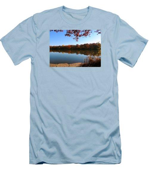 November Colors Men's T-Shirt (Slim Fit) by Teresa Schomig