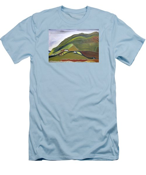 O Mountains That You Skip Men's T-Shirt (Athletic Fit)