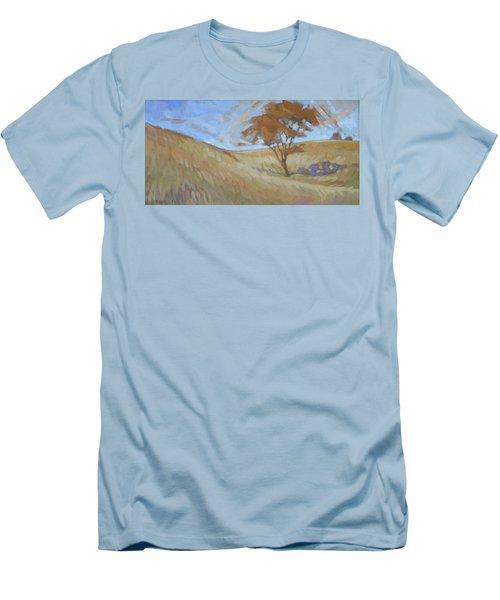 Oak Savanna, Autumn Men's T-Shirt (Athletic Fit)
