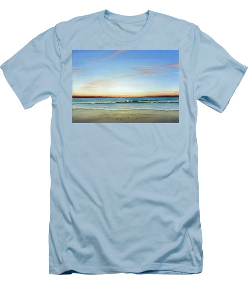 Obx Sunrise Men's T-Shirt (Athletic Fit)