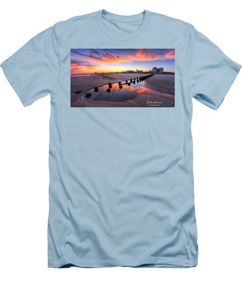 Ocean City Afterglow Men's T-Shirt (Athletic Fit)