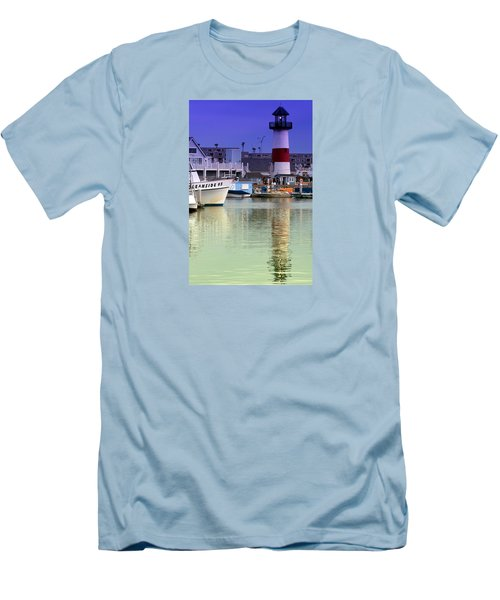 Oceanside Light Men's T-Shirt (Slim Fit) by DJ Florek