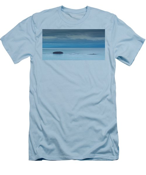 Men's T-Shirt (Slim Fit) featuring the photograph Off The Iceland Coast by Joe Bonita