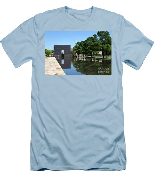 Oklahoma City National Memorial Bombing Men's T-Shirt (Athletic Fit)