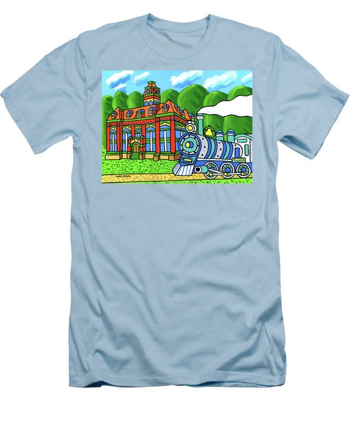 Old Alachua County Courthouse Men's T-Shirt (Athletic Fit)