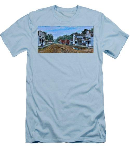 Old Town Breaux Bridge La Men's T-Shirt (Athletic Fit)