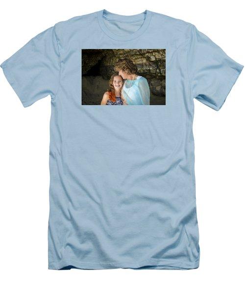 Olivia And Toni Men's T-Shirt (Slim Fit) by Alex Lapidus