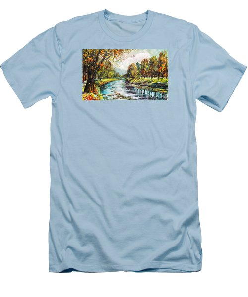Olza River Men's T-Shirt (Athletic Fit)