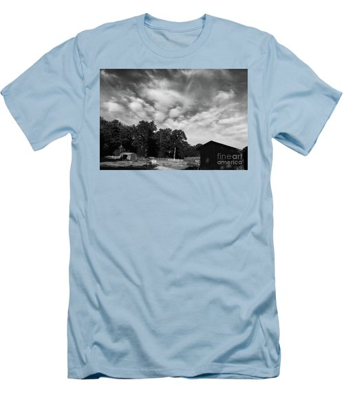 Ominous Sky Men's T-Shirt (Athletic Fit)