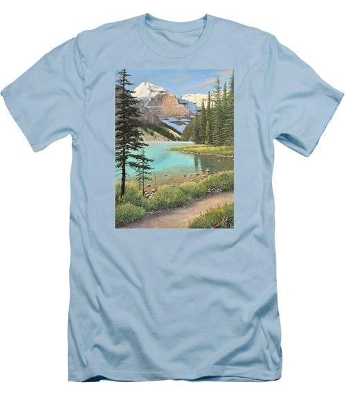 On A Summer's Day Men's T-Shirt (Athletic Fit)