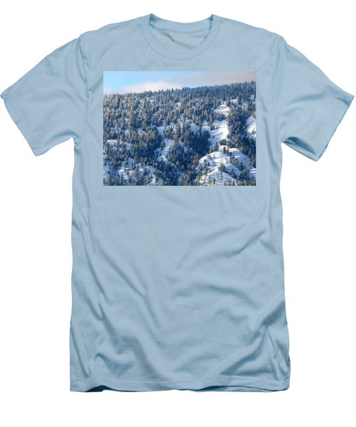 Men's T-Shirt (Slim Fit) featuring the photograph On The Far Side by Will Borden
