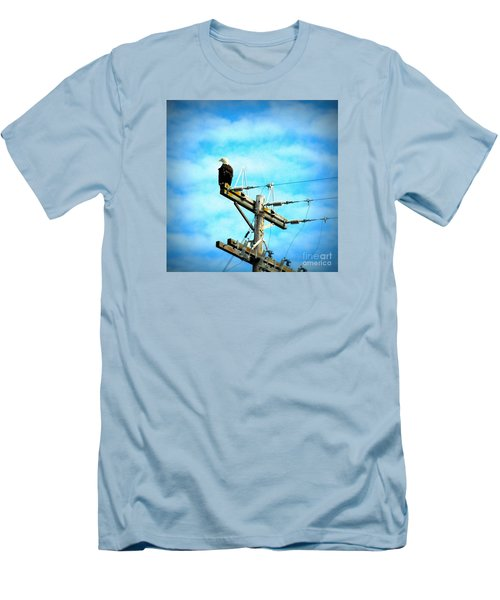 On The Job Men's T-Shirt (Slim Fit) by Tanya Searcy