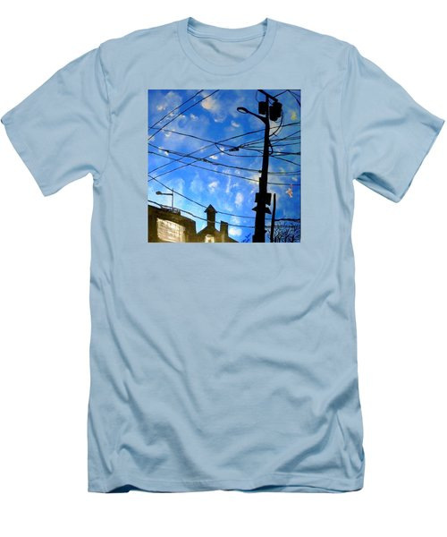 One Philly Sky Men's T-Shirt (Athletic Fit)