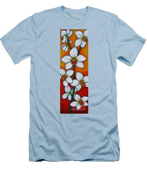 Orchid Oasis Men's T-Shirt (Athletic Fit)