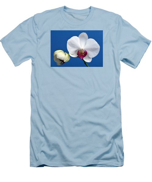 Orchid Out Of The Blue. Men's T-Shirt (Slim Fit) by Terence Davis