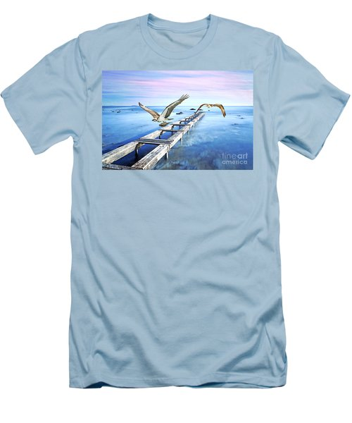 Osprey On The Move Men's T-Shirt (Athletic Fit)