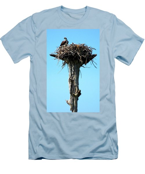 Osprey Point Men's T-Shirt (Slim Fit) by Karen Wiles