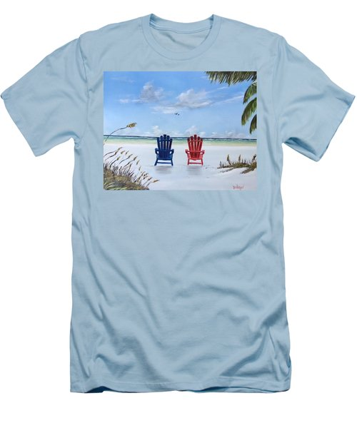 Our Spot On Siesta Key Men's T-Shirt (Athletic Fit)