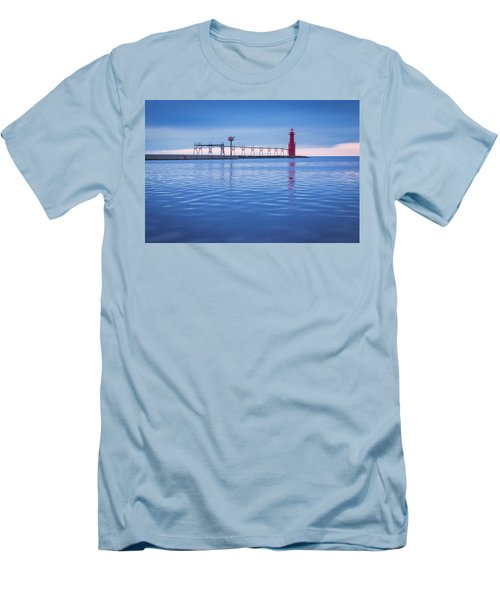 Men's T-Shirt (Slim Fit) featuring the photograph Out Of The Blue by Bill Pevlor