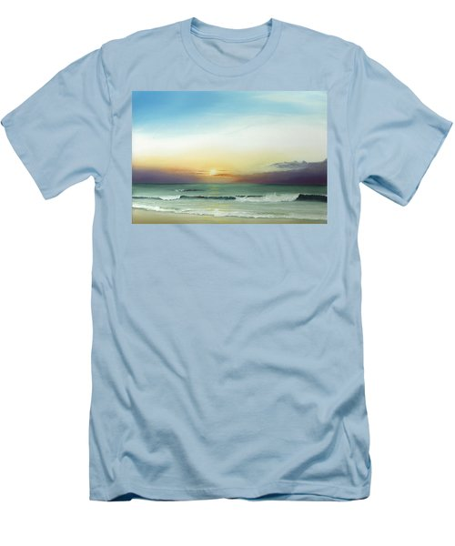 East Coast Sunrise Men's T-Shirt (Athletic Fit)