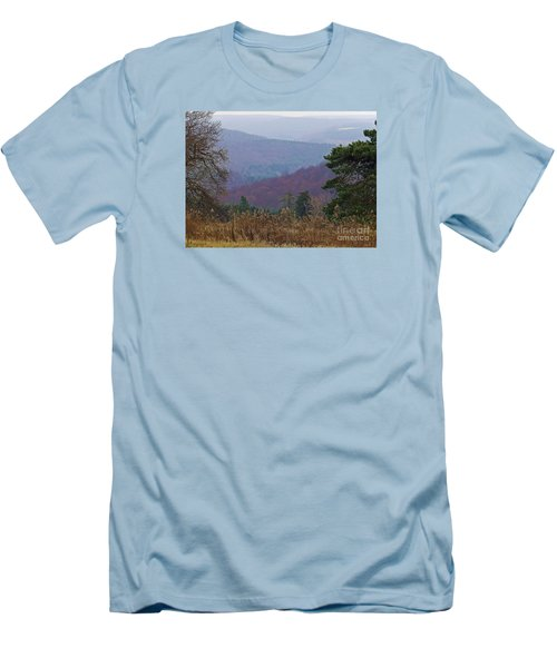 Men's T-Shirt (Slim Fit) featuring the photograph Over And Over And Over by Christian Mattison