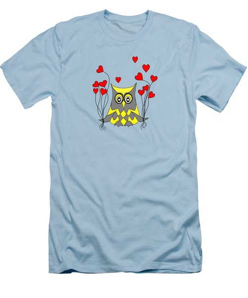 Owl Always Love You Men's T-Shirt (Slim Fit)