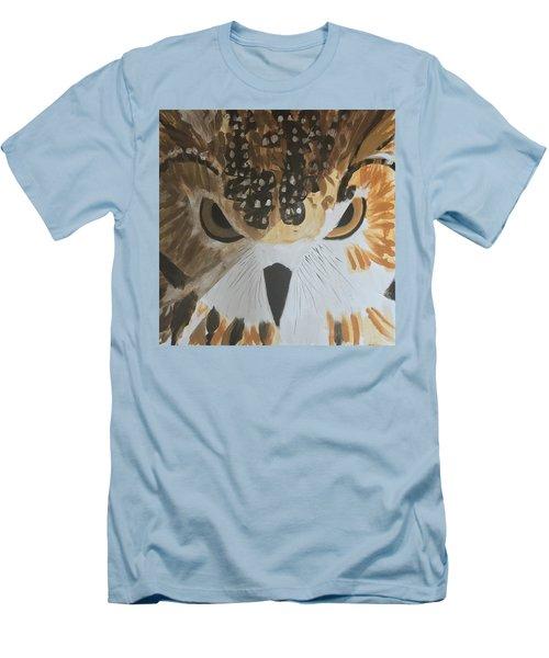 Owl Men's T-Shirt (Slim Fit) by Donald J Ryker III