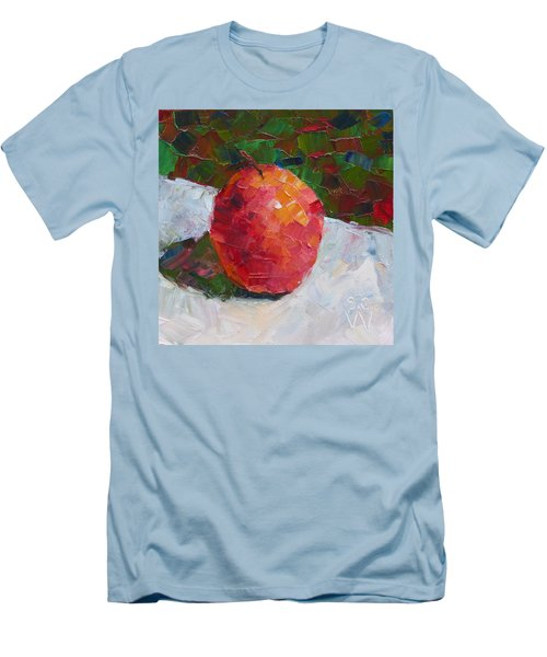 Pacific Rose Bold Men's T-Shirt (Slim Fit) by Susan Woodward