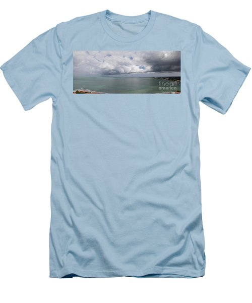 Pacific Storm Panorama Men's T-Shirt (Athletic Fit)