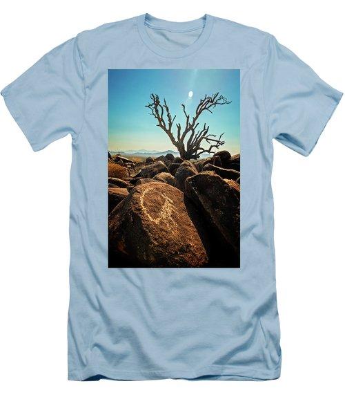 Pack Mule Petroglyph Men's T-Shirt (Athletic Fit)