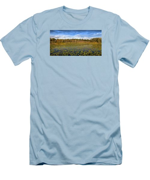 Men's T-Shirt (Slim Fit) featuring the photograph Pad City by Steve Sperry