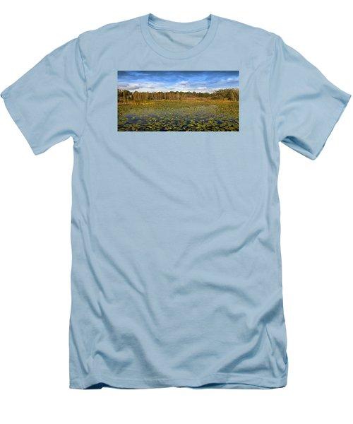 Pad City Men's T-Shirt (Slim Fit) by Steve Sperry