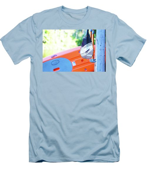 Paddle Men's T-Shirt (Slim Fit) by Angi Parks