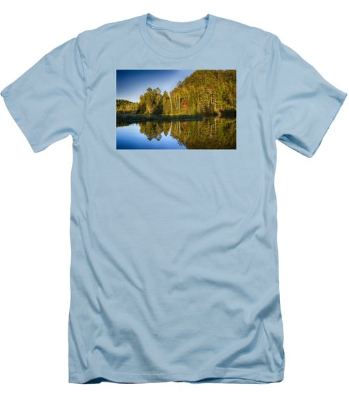 Paint River Men's T-Shirt (Athletic Fit)