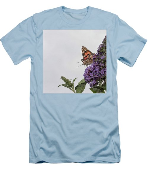 Painted Lady (vanessa Cardui) Men's T-Shirt (Athletic Fit)