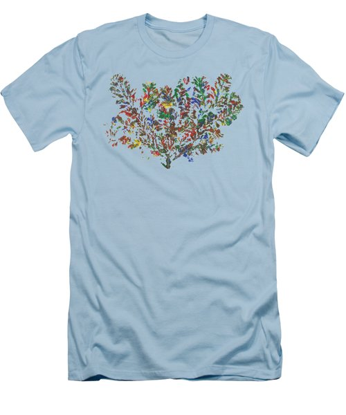 Painted Nature 2 Men's T-Shirt (Athletic Fit)