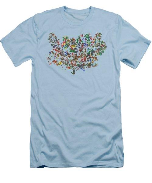 Painted Nature 2 Men's T-Shirt (Athletic Fit)