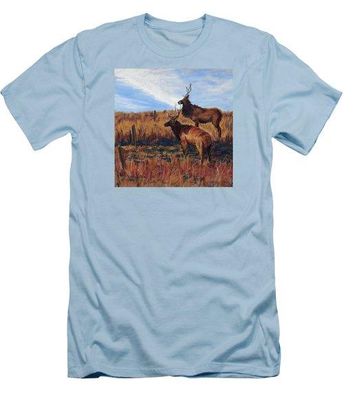 Pair O' Bulls Men's T-Shirt (Athletic Fit)