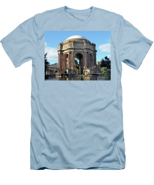 Men's T-Shirt (Slim Fit) featuring the photograph Palace Of Fine Arts by Steven Spak