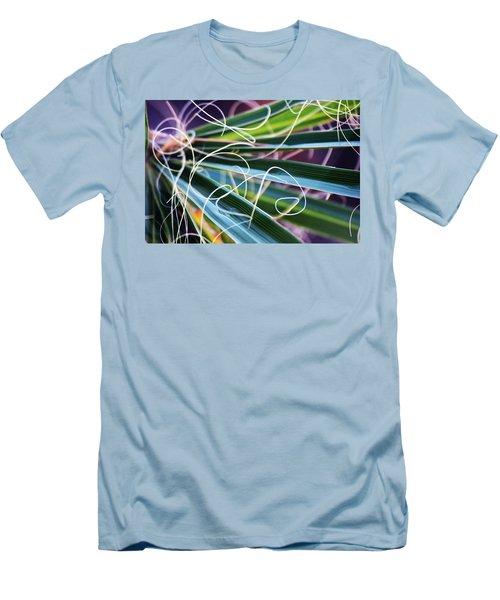 Palm Strings Men's T-Shirt (Slim Fit) by John Glass